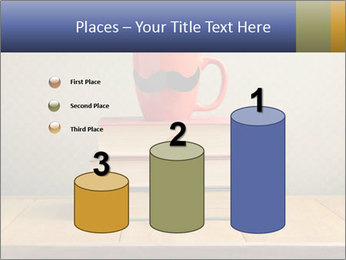 Red Cup And Books PowerPoint Template - Slide 65