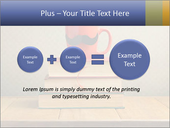 Red Cup And Books PowerPoint Template - Slide 75