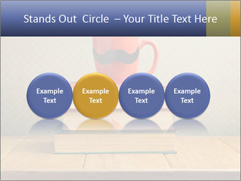 Red Cup And Books PowerPoint Template - Slide 76