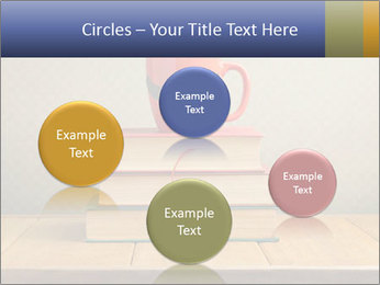 Red Cup And Books PowerPoint Templates - Slide 77