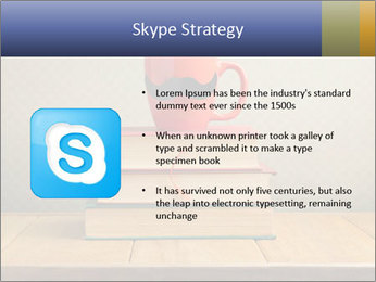 Red Cup And Books PowerPoint Template - Slide 8