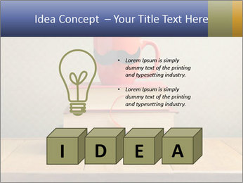 Red Cup And Books PowerPoint Template - Slide 80