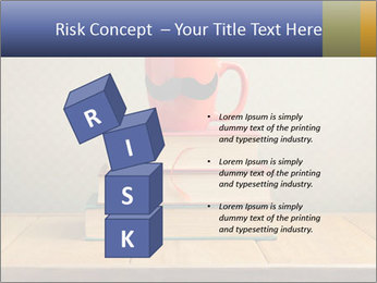 Red Cup And Books PowerPoint Templates - Slide 81