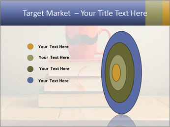 Red Cup And Books PowerPoint Templates - Slide 84
