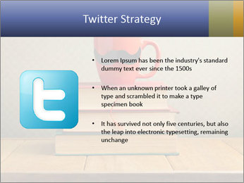 Red Cup And Books PowerPoint Template - Slide 9