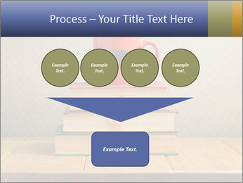 Red Cup And Books PowerPoint Template - Slide 93