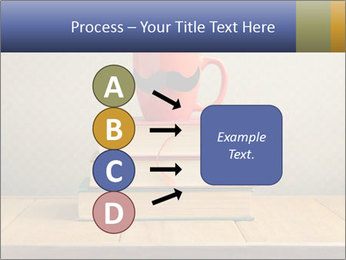 Red Cup And Books PowerPoint Templates - Slide 94