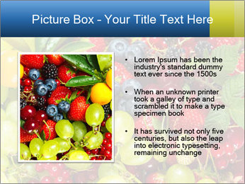 Mix Of Berries PowerPoint Template - Slide 13