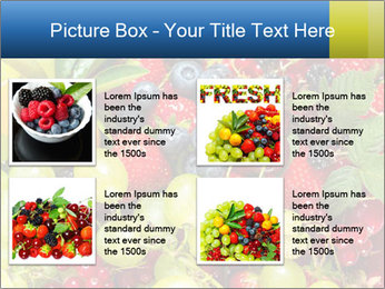 Mix Of Berries PowerPoint Template - Slide 14