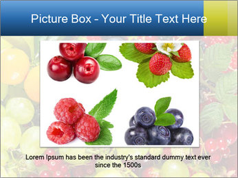 Mix Of Berries PowerPoint Template - Slide 16