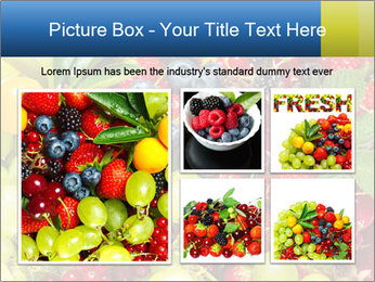 Mix Of Berries PowerPoint Template - Slide 19
