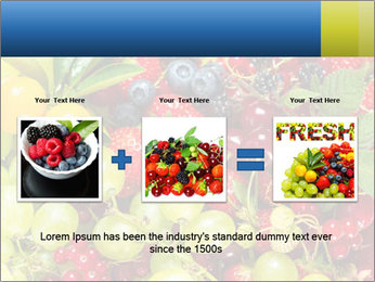 Mix Of Berries PowerPoint Template - Slide 22