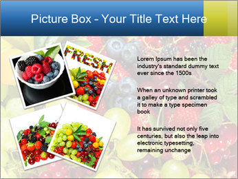 Mix Of Berries PowerPoint Template - Slide 23