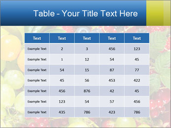 Mix Of Berries PowerPoint Template - Slide 55