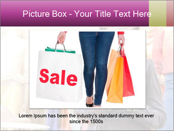 Woman Chatting With Cell Phone PowerPoint Template - Slide 15