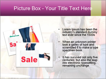 Woman Chatting With Cell Phone PowerPoint Template - Slide 20
