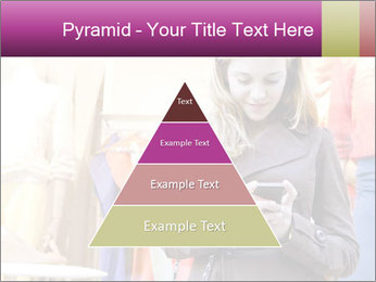 Woman Chatting With Cell Phone PowerPoint Template - Slide 30