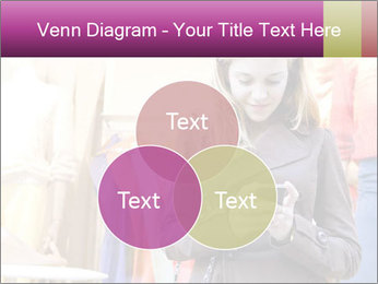 Woman Chatting With Cell Phone PowerPoint Template - Slide 33