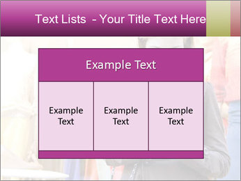 Woman Chatting With Cell Phone PowerPoint Template - Slide 59