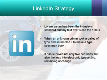 Man Calling Car Insurance PowerPoint Template - Slide 12