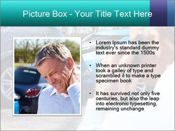 Man Calling Car Insurance PowerPoint Template - Slide 13