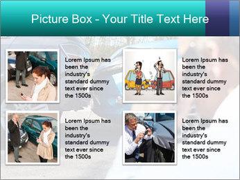 Man Calling Car Insurance PowerPoint Template - Slide 14