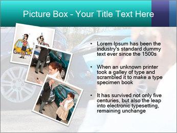 Man Calling Car Insurance PowerPoint Template - Slide 17