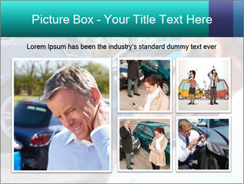 Man Calling Car Insurance PowerPoint Template - Slide 19
