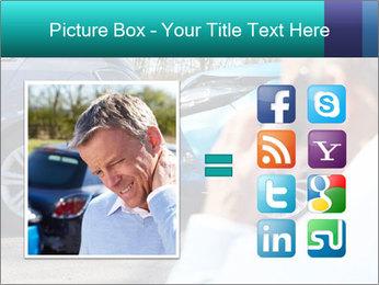 Man Calling Car Insurance PowerPoint Template - Slide 21