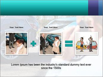 Man Calling Car Insurance PowerPoint Template - Slide 22