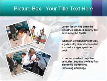 Man Calling Car Insurance PowerPoint Template - Slide 23