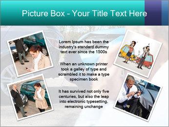 Man Calling Car Insurance PowerPoint Template - Slide 24