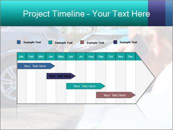 Man Calling Car Insurance PowerPoint Template - Slide 25
