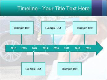 Man Calling Car Insurance PowerPoint Template - Slide 28