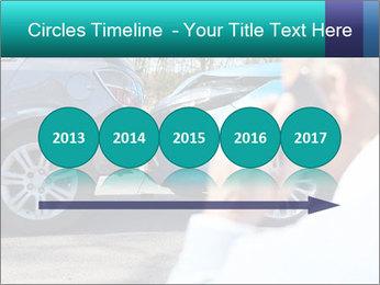 Man Calling Car Insurance PowerPoint Template - Slide 29