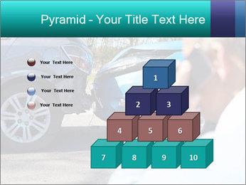 Man Calling Car Insurance PowerPoint Template - Slide 31