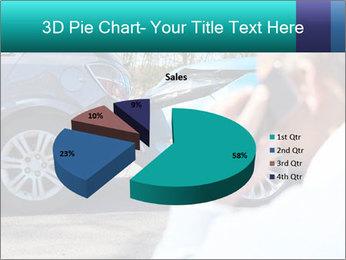 Man Calling Car Insurance PowerPoint Template - Slide 35