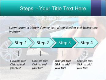 Man Calling Car Insurance PowerPoint Template - Slide 4
