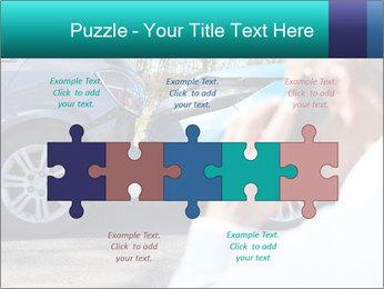Man Calling Car Insurance PowerPoint Template - Slide 41