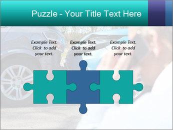 Man Calling Car Insurance PowerPoint Template - Slide 42