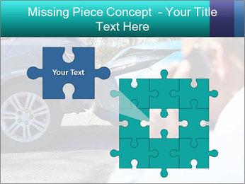Man Calling Car Insurance PowerPoint Template - Slide 45
