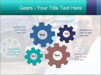 Man Calling Car Insurance PowerPoint Template - Slide 47