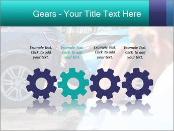 Man Calling Car Insurance PowerPoint Template - Slide 48