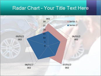 Man Calling Car Insurance PowerPoint Template - Slide 51