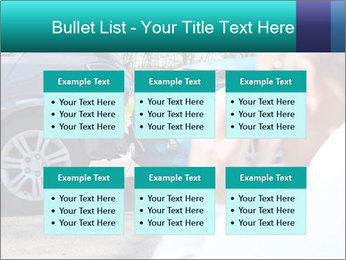 Man Calling Car Insurance PowerPoint Template - Slide 56