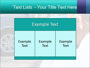 Man Calling Car Insurance PowerPoint Template - Slide 59