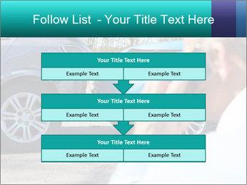 Man Calling Car Insurance PowerPoint Template - Slide 60