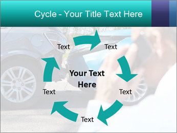 Man Calling Car Insurance PowerPoint Template - Slide 62