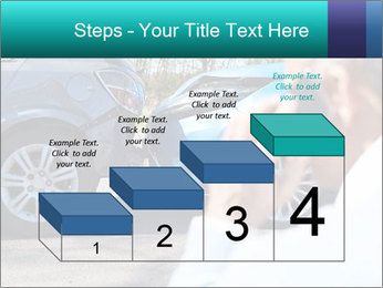 Man Calling Car Insurance PowerPoint Template - Slide 64