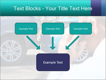 Man Calling Car Insurance PowerPoint Template - Slide 70